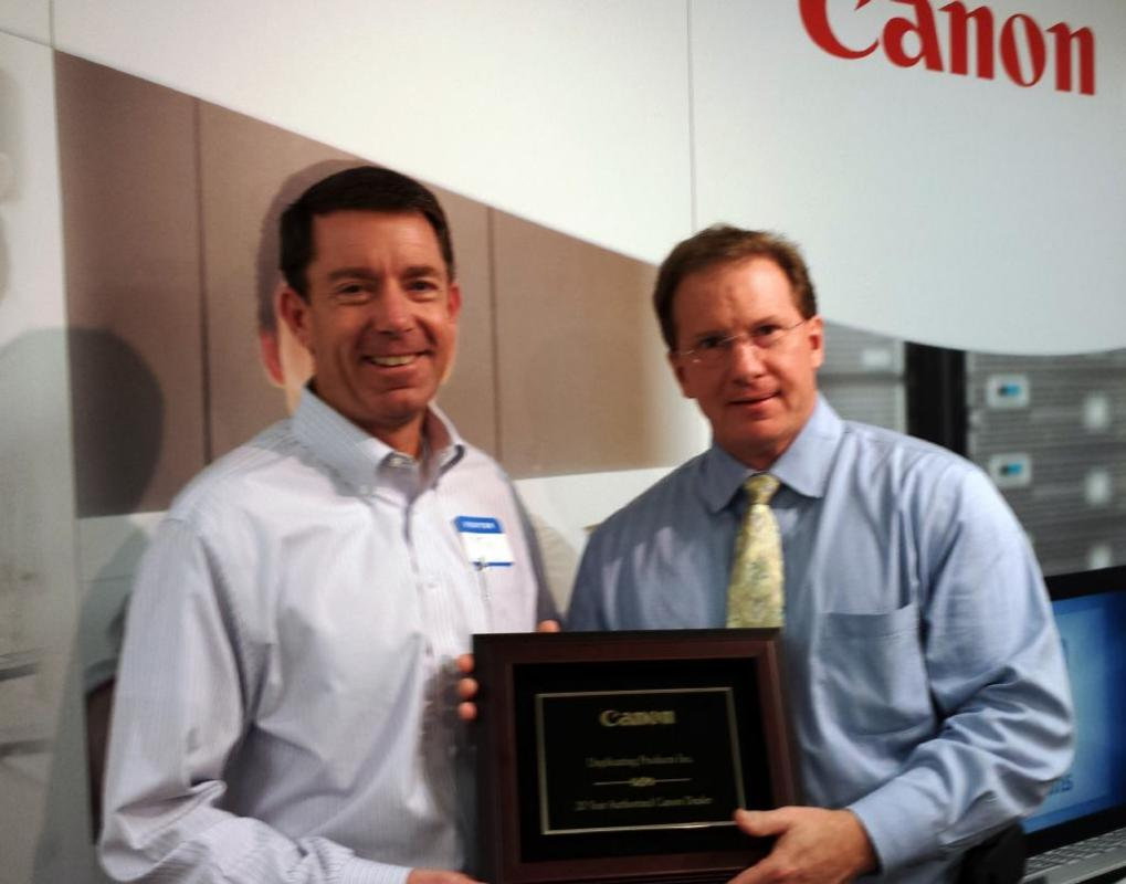 Duplicating Products Celebrates 20 Years Working With Canon USA