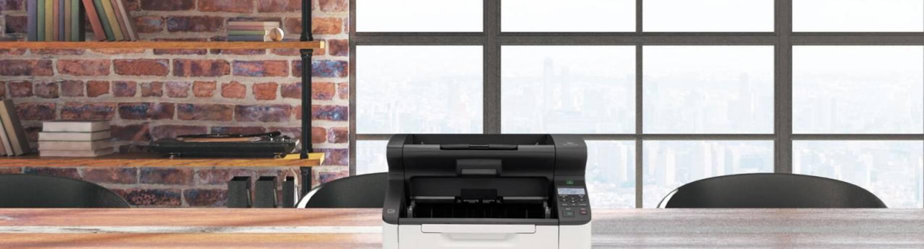 Scanner on an office desk